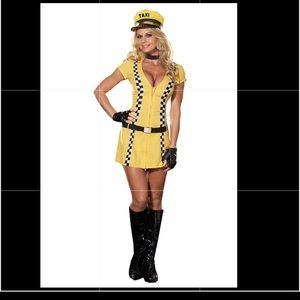 Other - Taxi driver girl Halloween costume